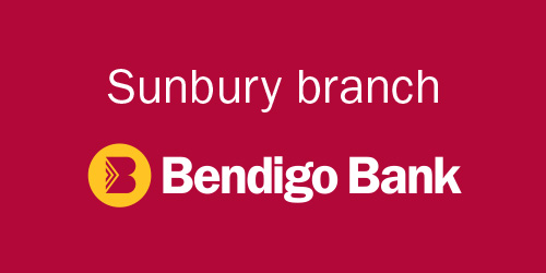 Sponsor Bendigo Bank